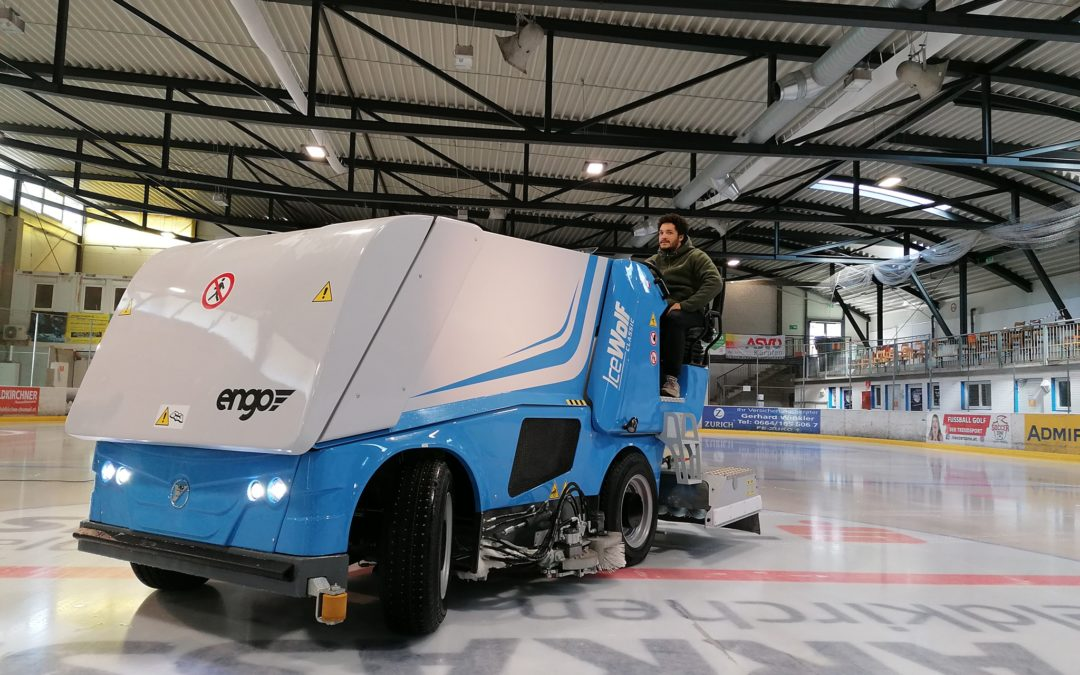 Unsere neue Eismaschine ist endlich da!
