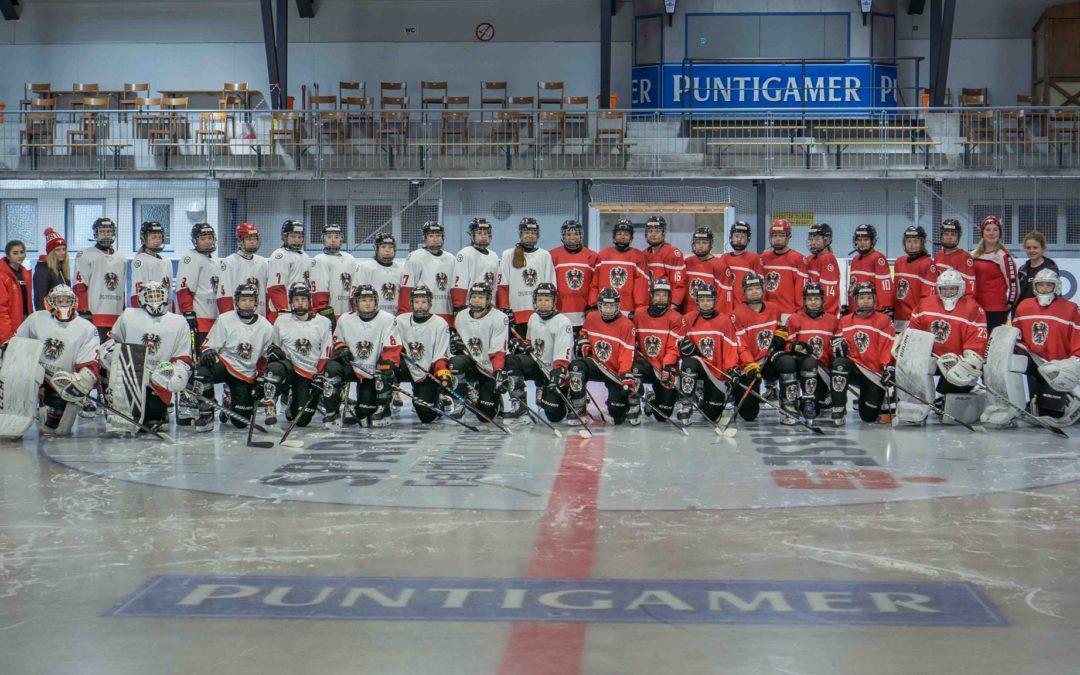 U18 Damen Eishockey Nationalteam bei uns zu Gast